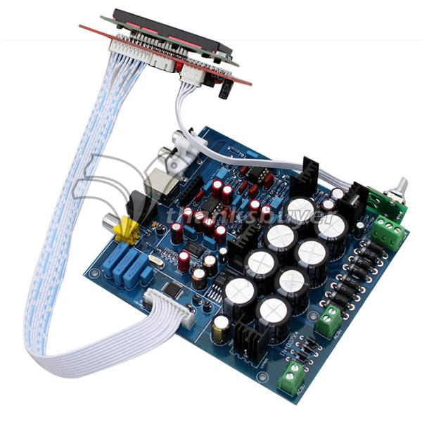 ФОТО PCM1794 + AK4118 DAC Decoding Control Board (Excluding USB Daughter Card)