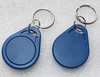 100pcs 3# RFID EM4305 Keyfobs 125khz  Rewritable Copy Key Tags use for Access Control Card