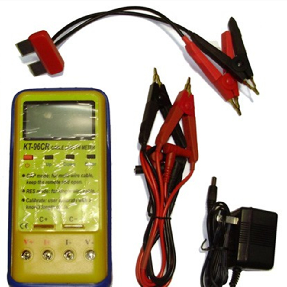 Kt 96cr кабель Длина метр с R & C Тесты режим электрическое сопротивление и измерение емкости самокалибрующийся Функция