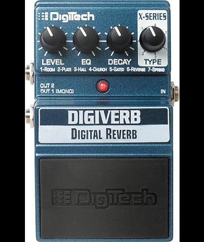 DigiTech DigiVerb Digital Reverb Pedal digitech чехол gb200