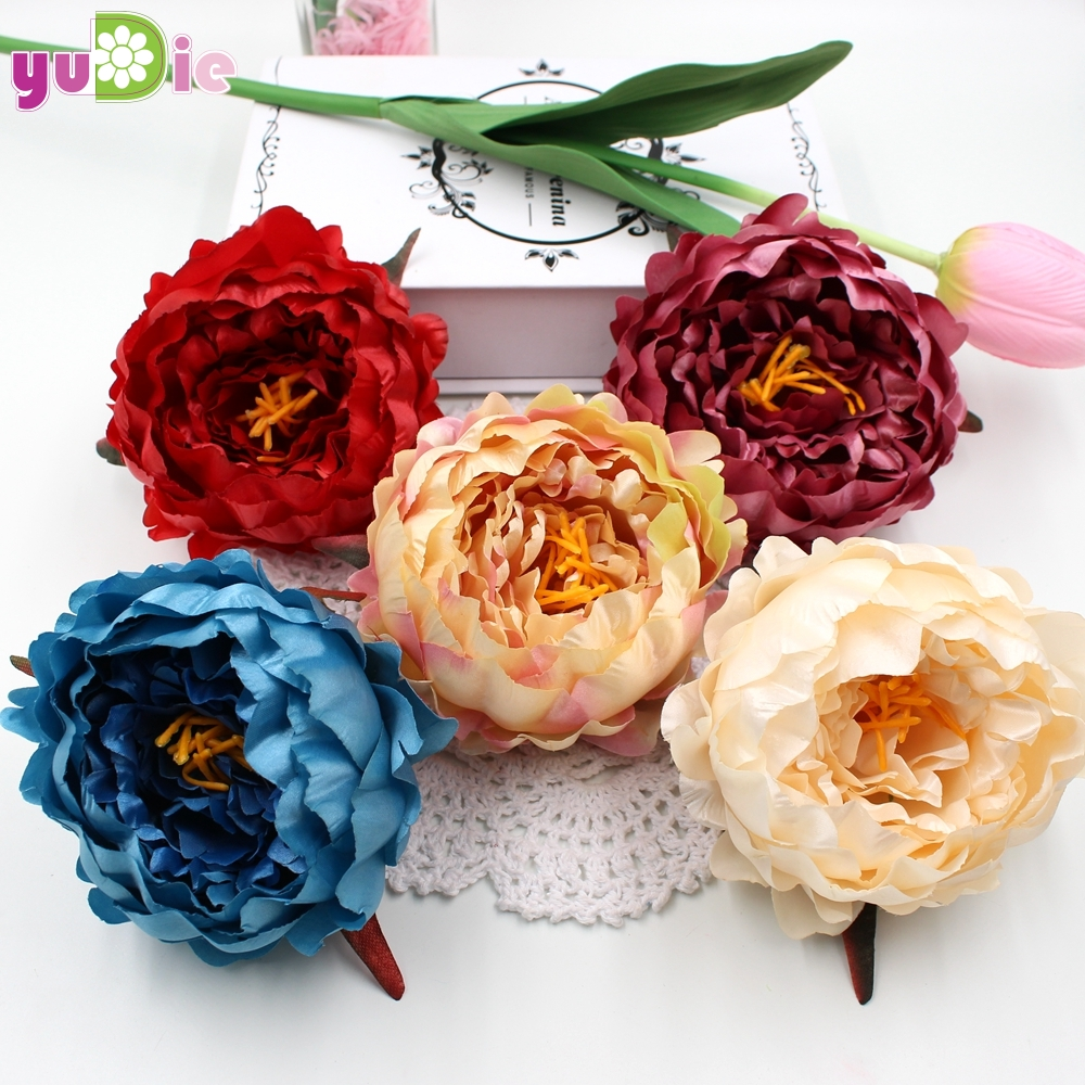 Aliexpress buy big size 1pcs peony flower bouquet palace aliexpress buy big size 1pcs peony flower bouquet palace emperor rose silk flower rose bouquet wedding decoration artificial flower from reliable izmirmasajfo