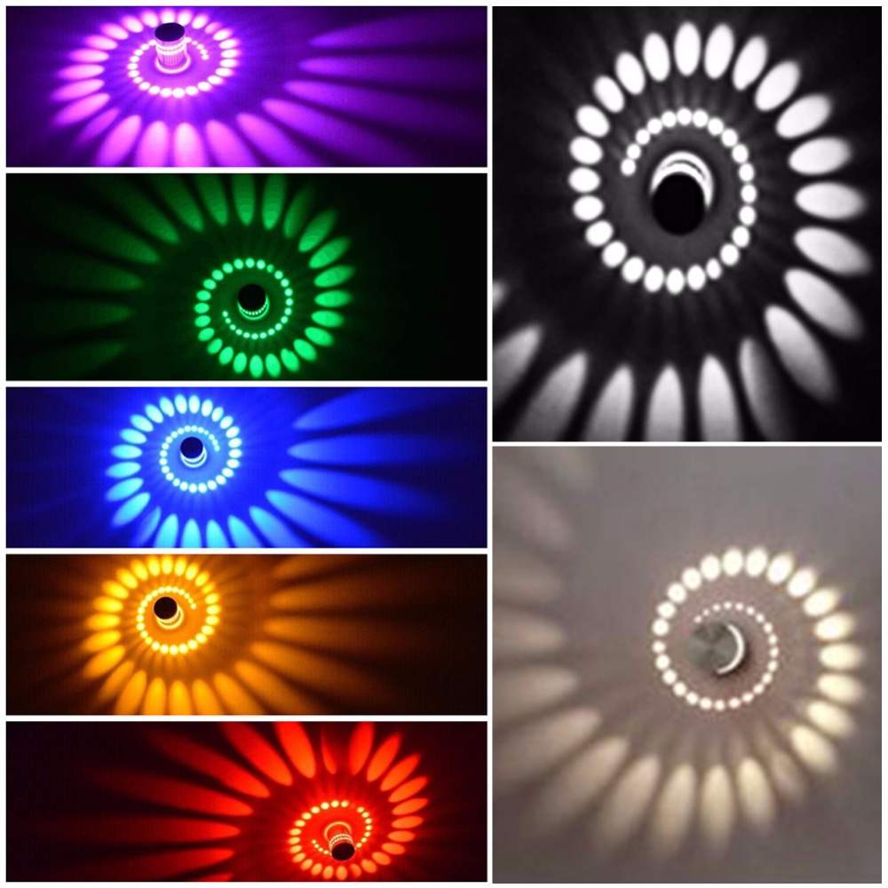 JJD Led Ceiling Corridor Aisle Bar Color Wall Lamp Background Light Foyer light Effect Decorative Lights Colorful RGB Lamp