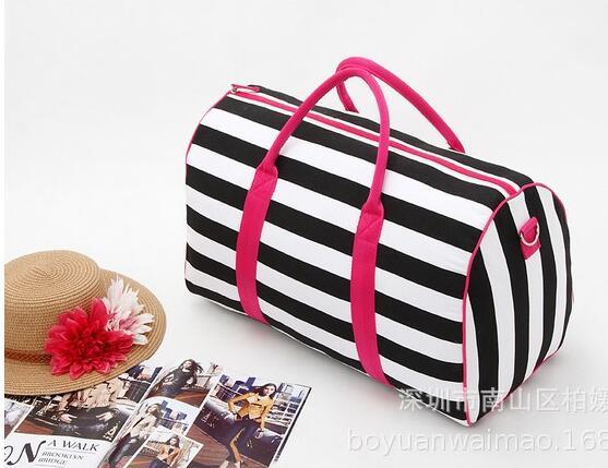 large capacity Cosmetic bag makeup bag Waterproof wash bag ,NICE black beauty 1