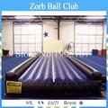 Envío gratis 10 m aire inflable Tumble pista caída / gimnasio