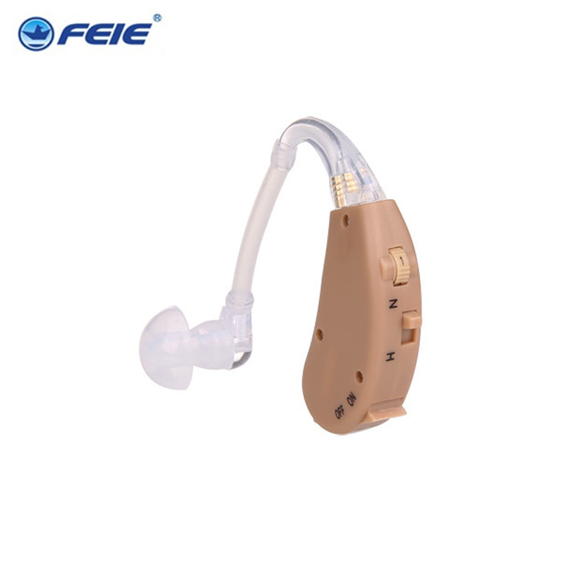 Feie Hearing Aid Voice Sound Amplifier Enhancer Headphone Hearing Aids S-268 Aerophone Earplugs Free Shipping devices for hearing mini digital hearing aid voice recorder minds aparelho auditivo 6 canais s 16a free shipping