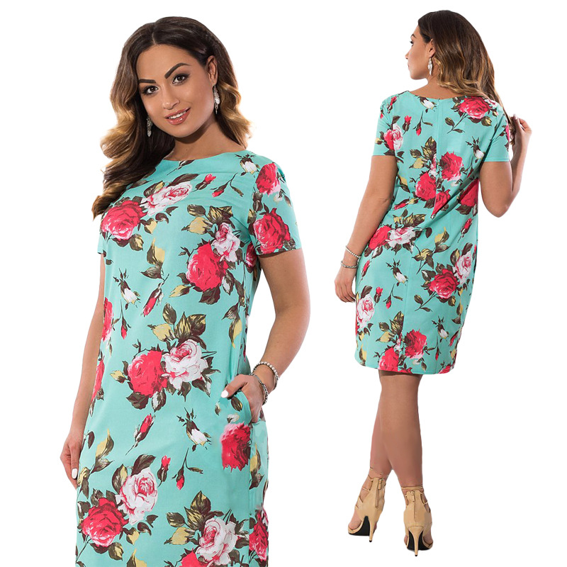 HTB1u0uLXf HK1Jjy1zcq6xb7XXay 2019 Autumn Plus Size Dress Europe Female Fashion Printing Large Sizes Pencil Midi Dress Women's Big Size Clothing 6XL Vestidos