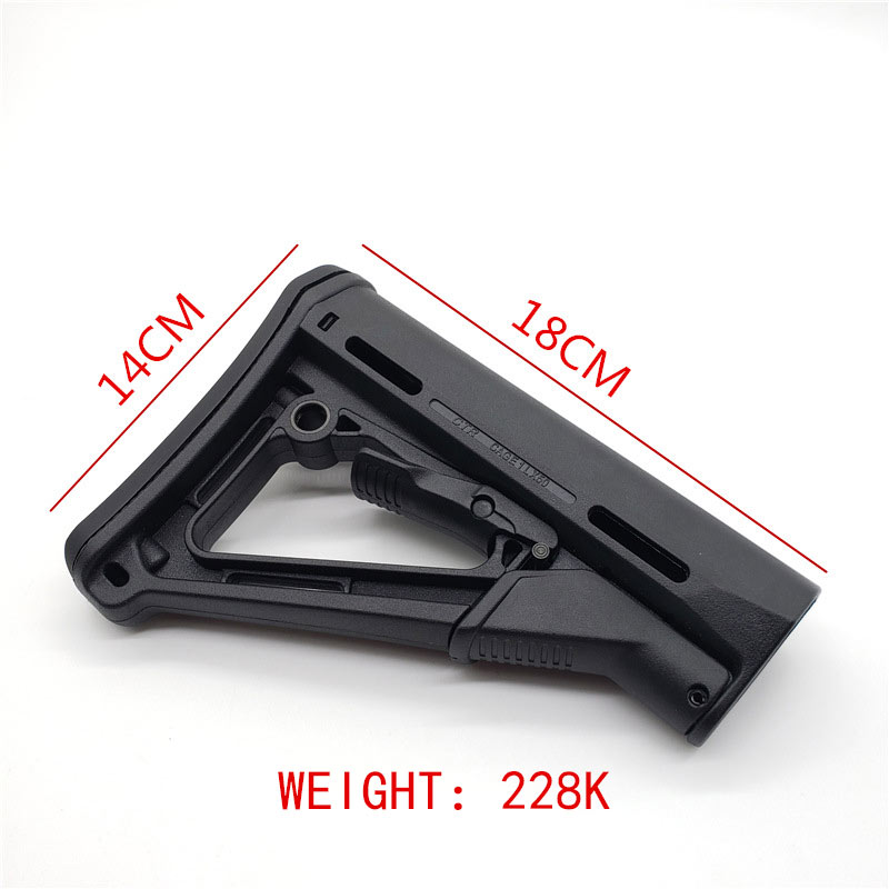 Image 4 - Tactical Nylon CTR Rear Back Support CTR After Care Back For Airsoft AEG Toy Hunting Accessories-in Hunting Gun Accessories from Sports & Entertainment