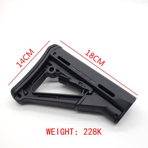 Image 4 - Tactical Nylon CTR Rear Back Support CTR After Care Back For Airsoft AEG Toy Hunting Accessories