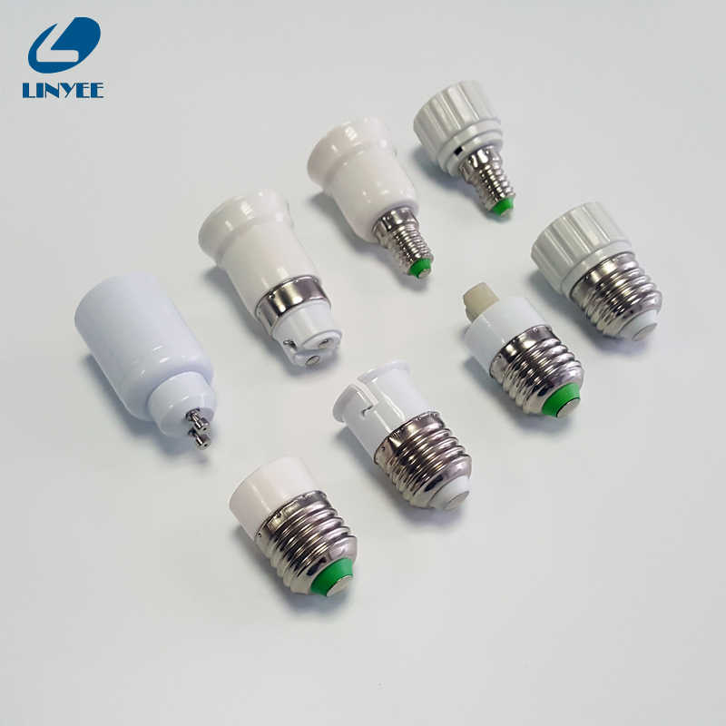 NEW  E27 E14 E12  B22 GU10 G9 Base Mutual Conversion lamp Holders Converter Socket Adapter lampholders For LED Corn Bulb light