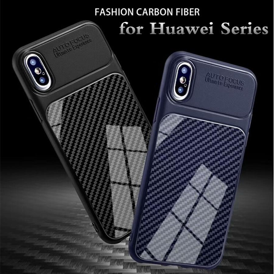 for Huawei P20 Lite P10 P8 Lite 2017 Case Huawei Nova 3 3E 2i 2 Lite Honor 10 8 9 Lite 6X 7A 7C Cover Silicone Back Phone Case 360 degrees