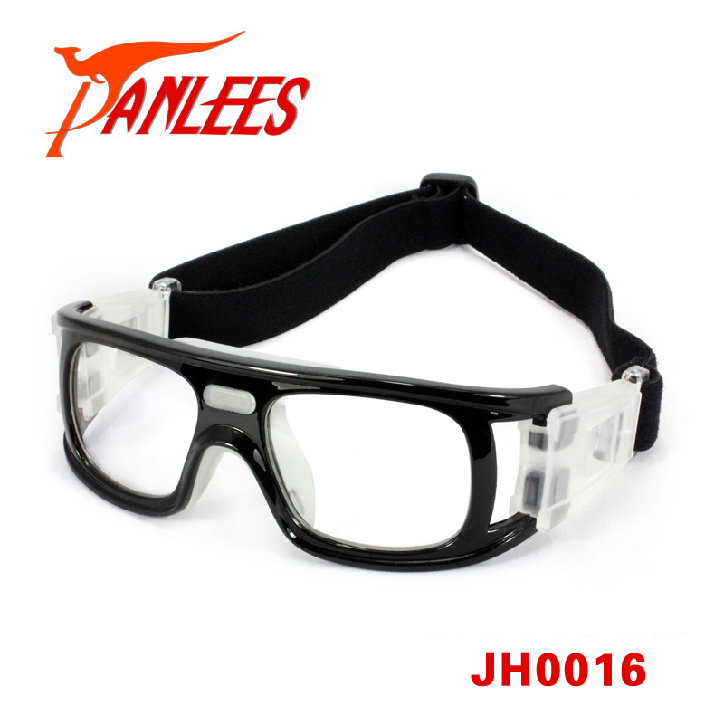 Panlees clear lens anti impact dribble aid basketball prescription eye glasses sport for soccer goggle