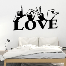 Hot Sale love Home Decorations Pvc Decal Wall Decals Art Decoration DIY Decor