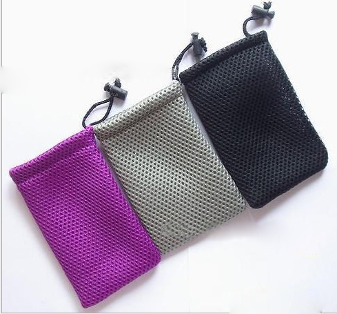 Radient 100pcs/lot Cbrl Small Mesh Jewelry Bag Mesh Gift Bag Mesh Drawstring Bag Pouch For Ornaments Ipad Jewelry Customize&wholesale In Pain Beads & Jewelry Making