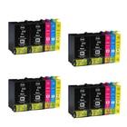 XIJIN 20pk 252 252XL 252 XL High Capacity compatible ink Cartridge for WF-3620 WF-3640 WF-7610 WF-7620 WF-7110 Printer