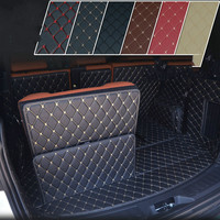 5D Full Covered No Odor Waterproof Carpets Boot Special Car trunk Mats for Land Rover Freelander 5/7 Seats 2017 Year Velar