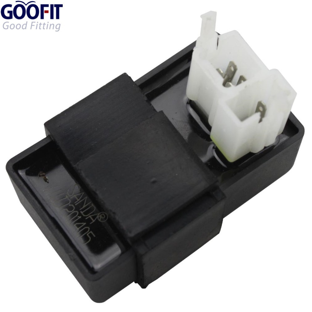 GOOFIT 6 pin AC CDI Box for CG AC 125cc 150cc 200cc 250cc Vertical Engine ATV Dirt Bike Go Kart Scooter H048 001 in Motorbike Ingition from Automobiles Motorcycles