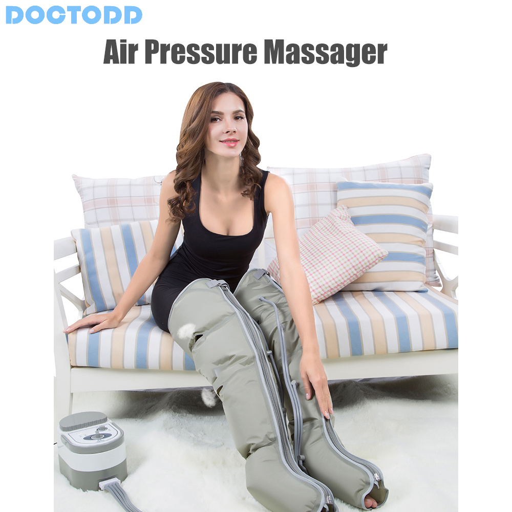 Image 4 - Air Wave Pressure Massager Continuous Compression Circulator Leg Arm Waist Leg Massageing Machine Muscles Relaxed Recovery Devic-in Massage & Relaxation from Beauty & Health