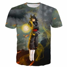 Dragon Ball Vegeta Goku 3D Saiyan T Shirt