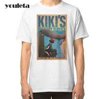 2018 2017 Kiki S Delivery Service T Shirt Summer Short Sleeve Style Adults T Shirt Man