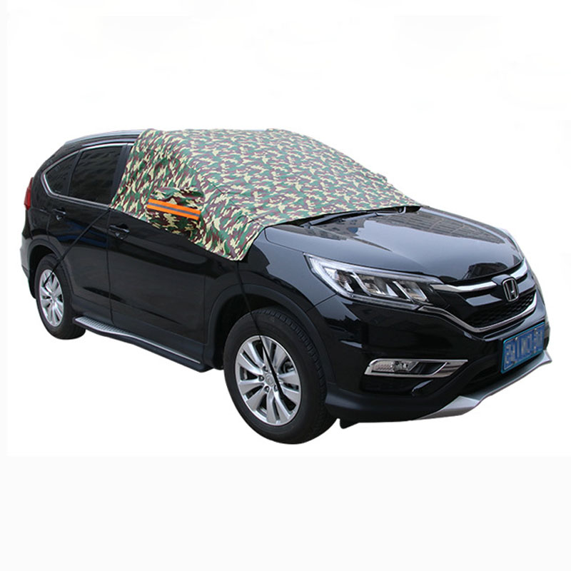 Full Car Body Cover XXL Silver Coating Fully Anti-Scratch Car Protective Cover Waterproof Sun-Proof Dust-Proof Heat Separation Protector