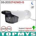 Home secuirty ip Camera English version DS-2CD2T42WD-I5 4MP EXIR IR 50M Bullet Camera Full HD 1080P WDR POE Onvif CCTV IP Camera