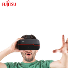 Fujitsu 3D Helmet Wearable Devices VR Box 2.0 Support Intelligent Capacitive Touch, Head Tracking and Physical Buttons