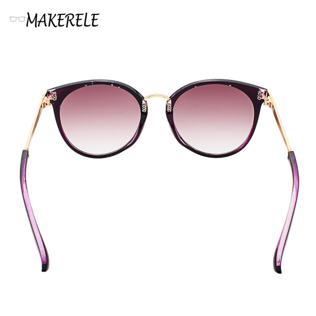 Online Shop cat eye designer ladies sunglasses sale name brand Metal ...