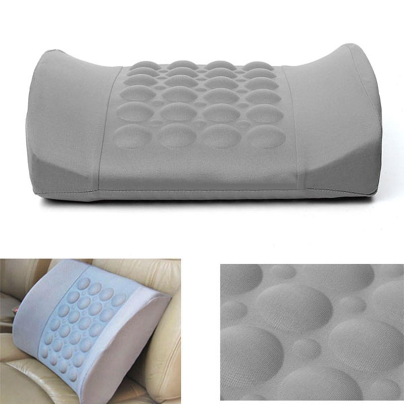 car electrical massage back seat cushion mayitr soft cotton support back lumbar posture support office