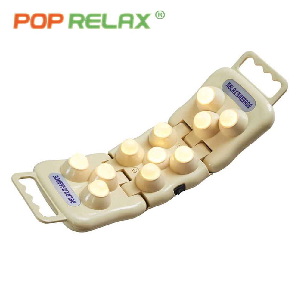 POP RELAX 11 bollar real jade roller massager projektor LED foton - Sjukvård - Foto 4