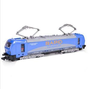 Image 4 - 1:32 alloy single section tram model,pull back train model,simulation of colorful lights,can open childrens toys