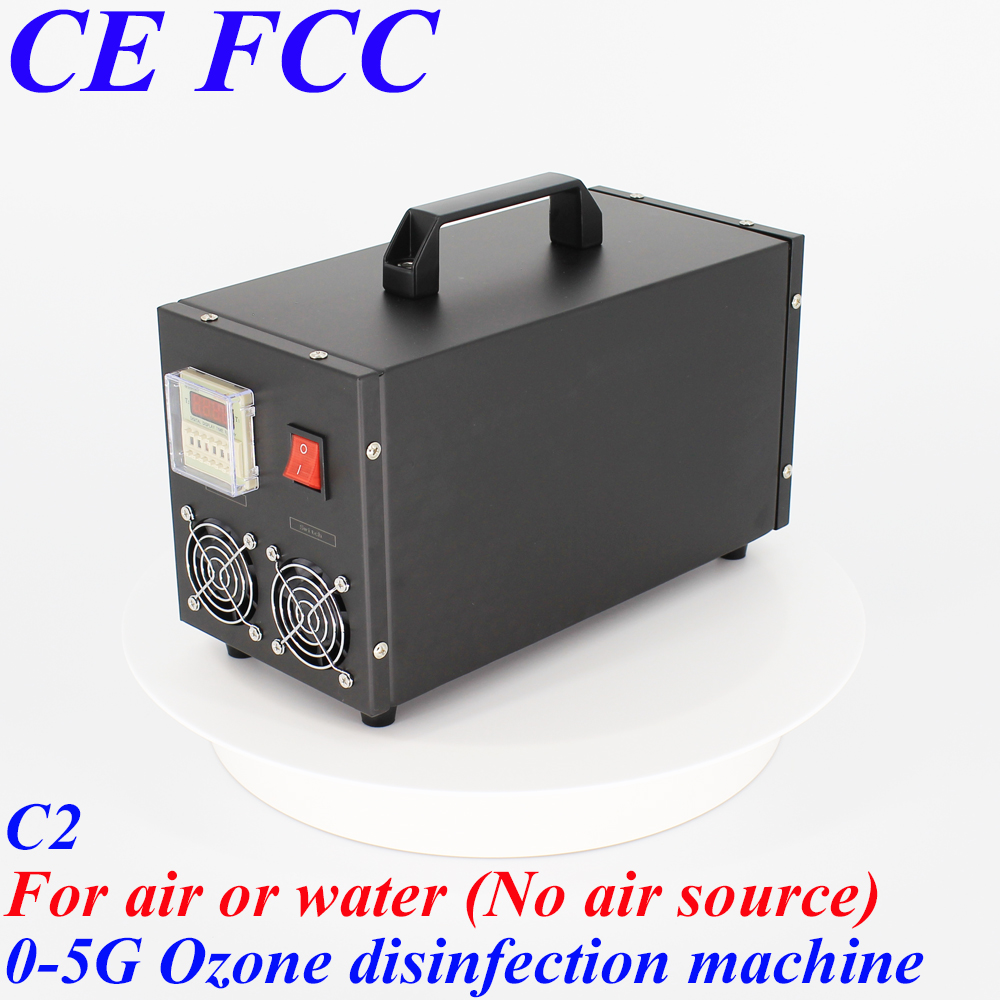 Pinuslongaeva C2 for medical 500mg 1g 3g 5g/h stainless steel shell ozone machine disinfection ozone generator No gas source