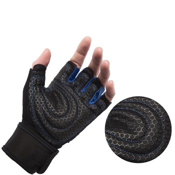 M-XL Gym Gloves Heavyweight Sports Exercise Weight Lifting Gloves Body Building Training Sport Fitness Gloves Crossfit Equipment 3