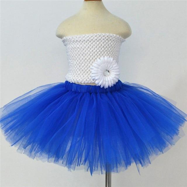 Kids Girls Skirts Baby Tutu Dancewear Cute Fluffy Tulle Skirt 7 Different Colors Pettiskirt Princess Girls Tutu Skirt 1-10Y