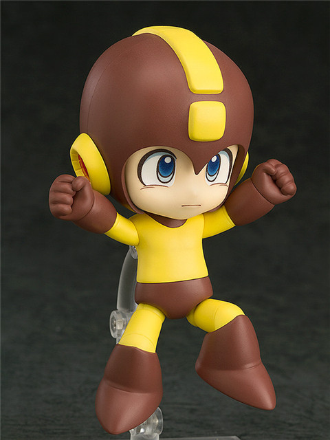 10cm Rockman Nendoroid Anime Action Figure PVC Collection Model toys brinquedos for christmas gift free shhipping 1