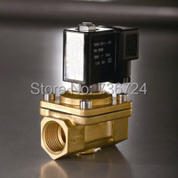 3/4 Two positiom Two way brass solenoid valve ,stardard type,DC24, AC220V, AC110V,DC12V electric solenoid valve water