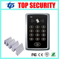 Card Access Control 1000 Users Single Door Standalone Access Control System With 10pcs RFID Card