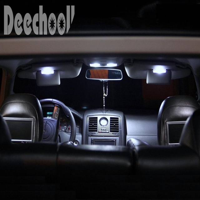 Deechooll 7pcs Car LED Light for Opel Astra H GTC ,Canbus White ...