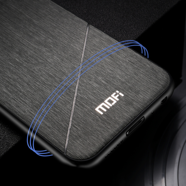 MOFi Xiaomi Redmi Note 6 Pro Business Style Shockproof Back Case Cover