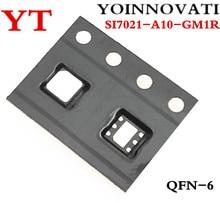 10 шт./лот SI7021 A10 GM1R SI7021 A10 SI7021 датчик температуры IC RH 2% DFN лучшее качество.