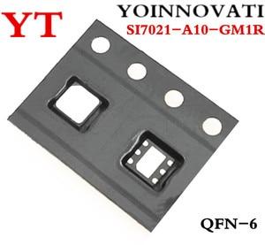 Image 1 - 10ピース/ロットSI7021 A10 GM1R SI7021 A10 SI7021 icのtemp sensor rh 2% dfn最高品質。