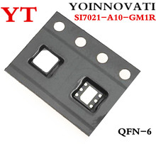 10pcs/lot SI7021 A10 GM1R SI7021 A10 SI7021 IC TEMP SENSOR RH 2% DFN best quality.