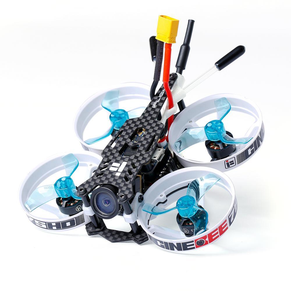 IFlight CineBee 75HD 75mm 2 3S Whoop z Caddx żółw V2 kamera/iff SucceX F4 data data powrotu (wieża/1103 2 3S silnik dla FPV RC drone w Części i akcesoria od Zabawki i hobby na  Grupa 2