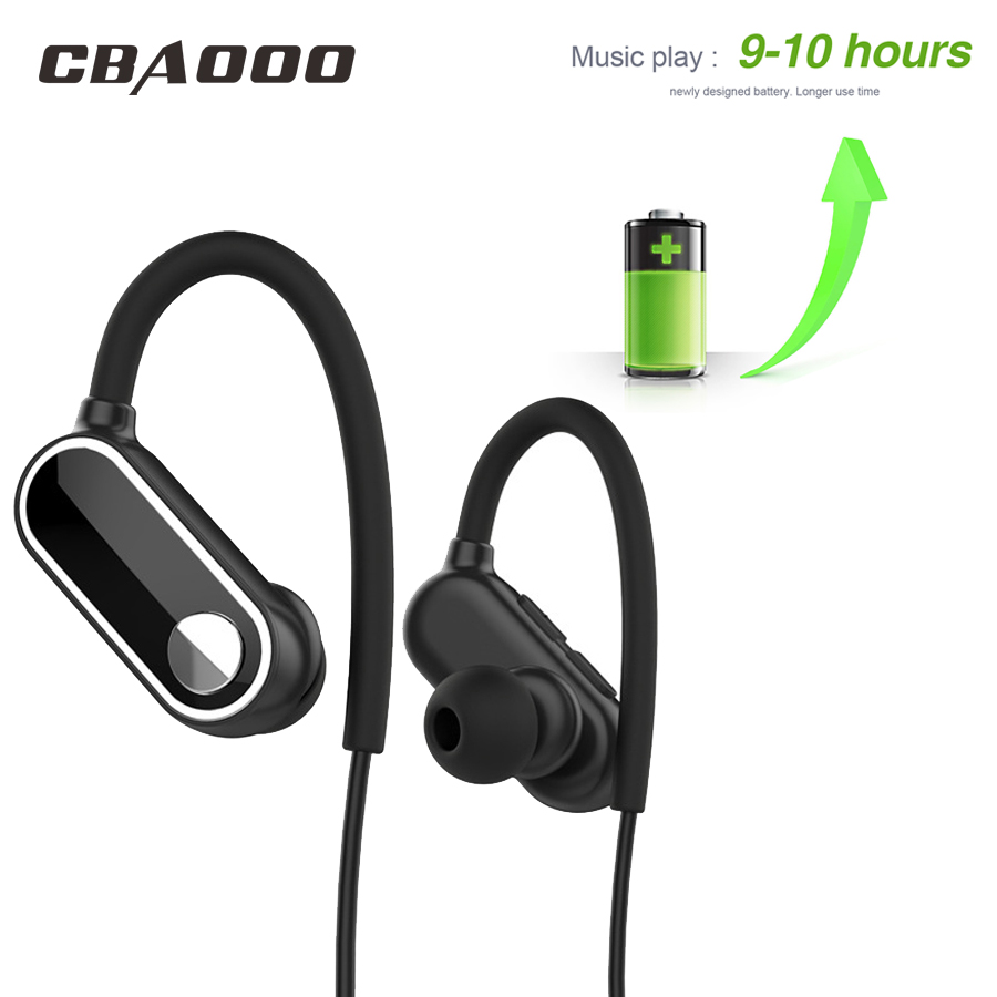 bluetooth headphones waterproof wireless Earphone sports bass bluetooth headset with mic for phone iPhone xiaomi 10Hours Music laplaya laplaya термос mercury 1 л красный