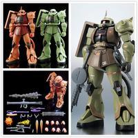 Baofeng Model Robot Spirits MS 06 Zaku II ver A.N.I.M.E / Green / Char Red Gundam Finished model DB040