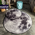 Creative Study Round Mat Top Quality Circle Carpet Living Room Coffee Table Pad Bedroom Computer Support Rugs Chair Room Bedside
