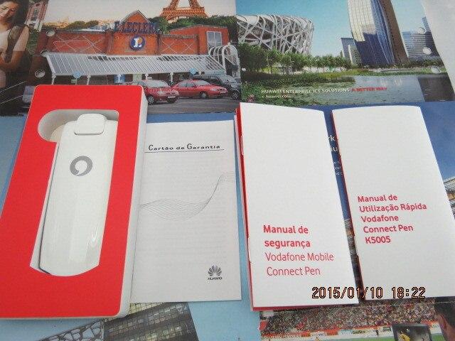 Brezplačna dostava Huawei K5005 (Twins kot Huawei E398) 4G LTE brezžični modem 100Mbps odklenjen 4G pas (800 / 2600Mhz)