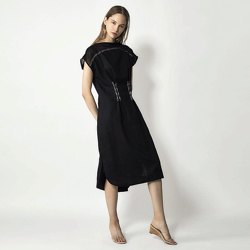 Loose Milan Runway Designer High Quality Spring Summer New Women S Fashion Party Work Sexy Vintage