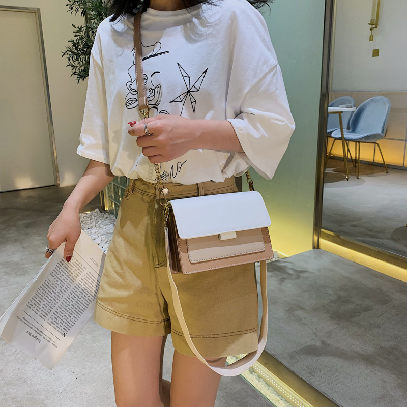 Mini Leather Crossbody Bags For Women 2019 Green Chain Shoulder Messenger Bag Lady Travel Purses and Handbags  Cross Body Bag 6