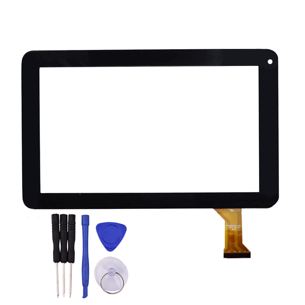 New 9 Inch Black Touch Screen for  eXpro X9 Tablet Digitizer Glass Panel Sensor Replacement Free Shipping replacement touch screen digitizer glass for lg p970 black