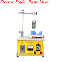 Máquina de mistura elétrica pequena do distribuidor do óleo da impressão da tela da velocidade da máquina de mistura da pasta da solda do misturador da tinta 1-5kg